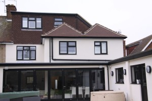 Loft and double wrap around extension with complete internal renovation, Tippendell Lane St Albans