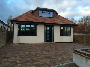 Chalet bungalow new build, Watford Road St. Albans-2
