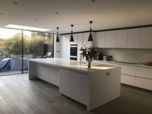 Extension with open plan internal renovation, St Albans
